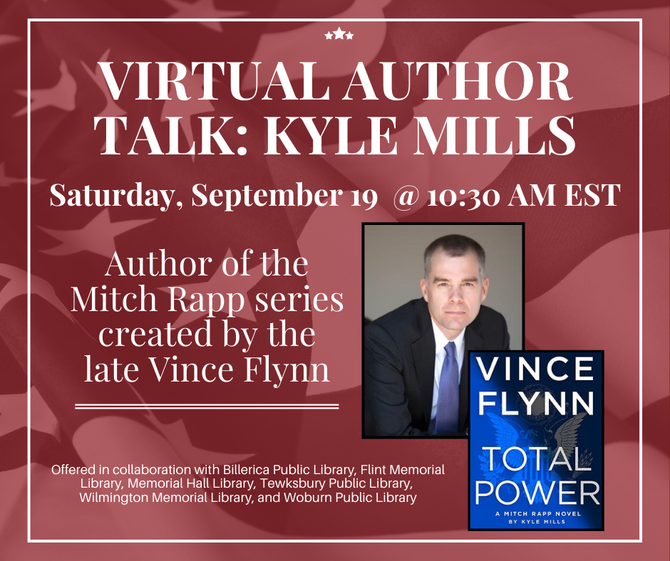 6 North Of Boston Libraries To Host Bestselling Author Kyle Mills