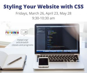Worcester Public Library- Styling Your Website with CSS