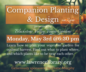 Lawrence Library presents- Companion Planting and Design