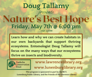 Lawrence Library presents- Doug Tallamy: Nature's Best Hope