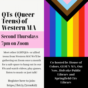 Springfield City Library presents- QT's of Western MA