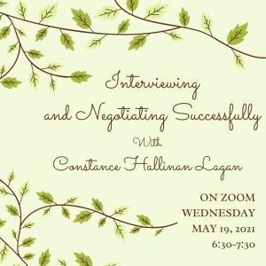 Lunenburg Public Library presents- Interviewing and Negotiating Successfully with Constance Hallinan Lagan