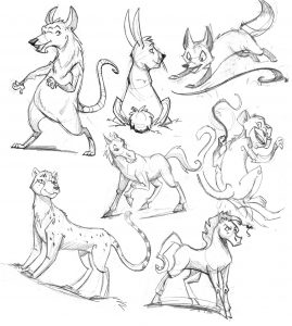 Bridgewater Public Library presents- Virtual Art with Corrine- Basic Animal Drawings