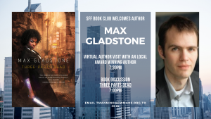 Clapp Memorial Library presents- SFF Book Club and Author Talk with Max Gladstone