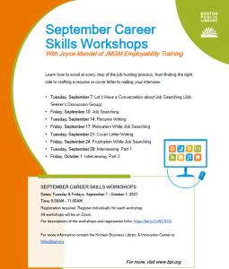 BPL presents- Career Skills: Interviewing, Part 2