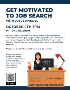 Northborough Public Library presents- Get Motivated to Job Search!