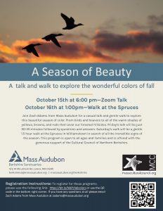 North Adams Public Library presents- A Season of Beauty Virtual Presentation