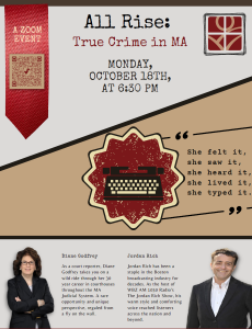 Morse Institute Library presents- All Rise: True Crime in Massachusetts
